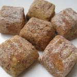 kare tarçınlı kurabiye